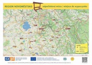 Mapa regionu Novoměstsko